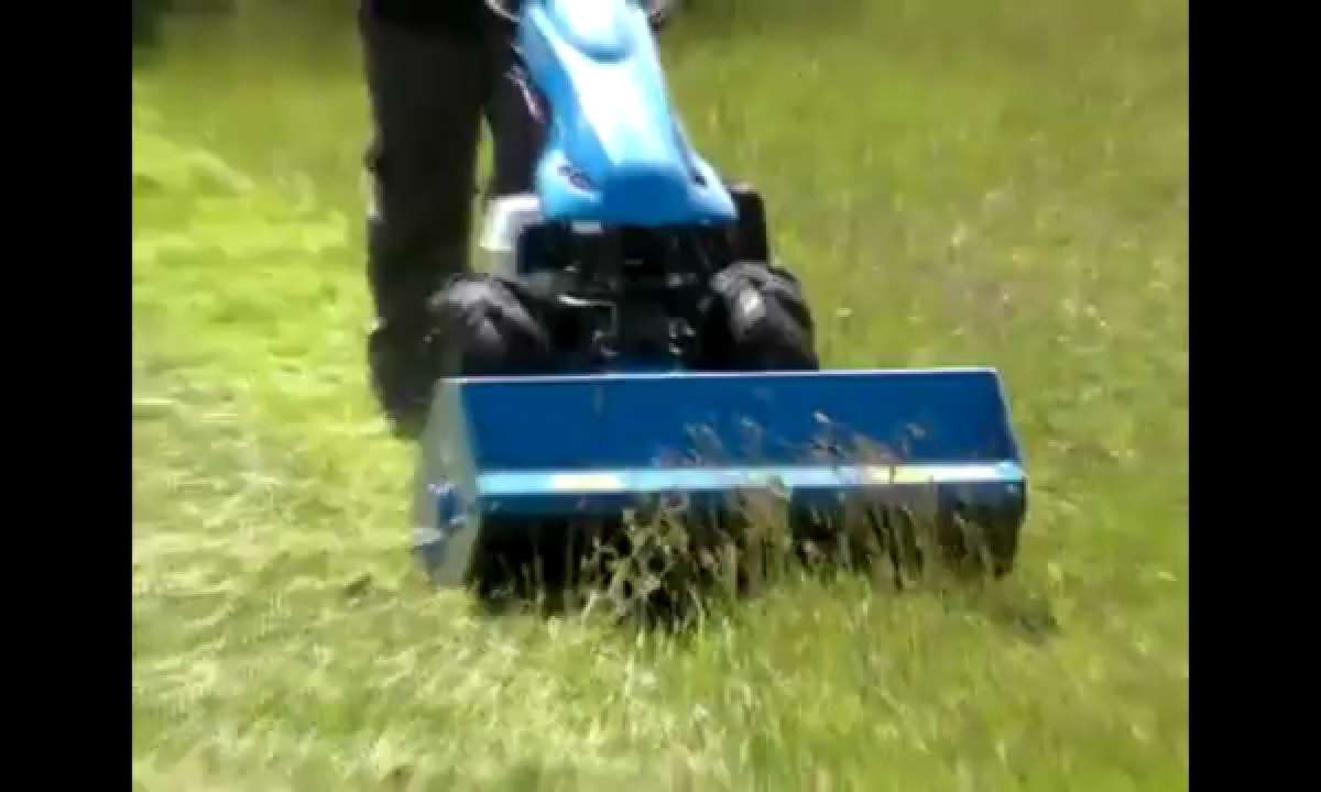 BCS 740 with 80cm Flail Mower Demonstration