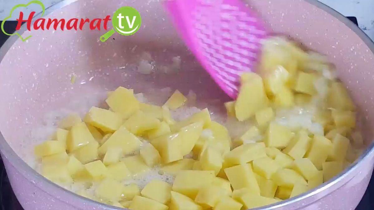 Patatesli Bulgur Pilavı Tarifi Videosu