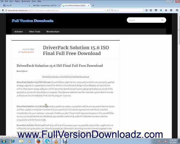 driverpack solution 15.6 full free download