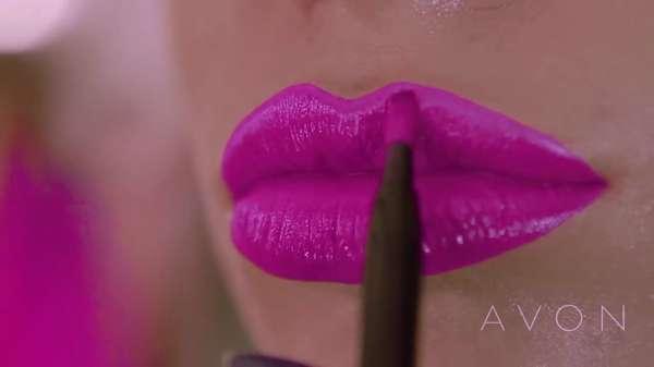 Avon Ultra Color Bold Ruj Ile Cesur Dudaklar Dudak Sanatı Grafik Dudaklar