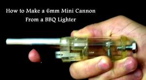 Make Ninja Darts for the Lighter Mini Cannon