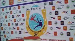 1 ETU Avrupa Olimpik Siklet Taekwondo Şampiyonası Kupa Töreni
