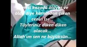 ANNE KARNINDAN ALINAN CENİN!
