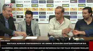 Feyzi - Eskişehirspor imza töreni