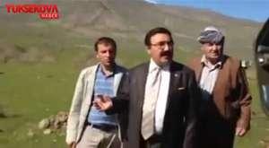 Ermeni protestesunda Türk bayrağı