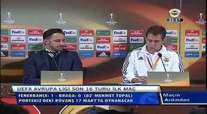 Fenerbahçe 1-0 Braga viktor Pereira maçın ardından konuştu