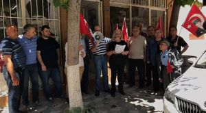 Akhisar MHP Teşkilatı'ndan Başkan Ergün'e Tebrik