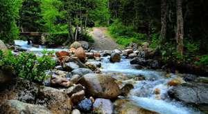 Akdere Köyü Balagına Yolu