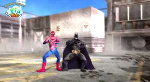 Spider man,hulk, batman, gungdam style dance