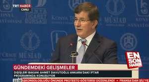 Davutoğlun'dan Ekmeleddin İhsanoğlu'na sert eleştiri