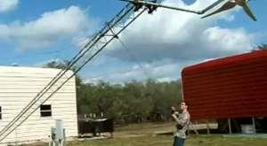 meltem rüzgar türbini montaj videosu