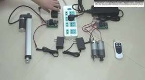 Motor Remote Control with Adjustable Time Delay Function