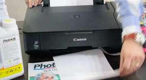 4- Sonuç ve Test Bitmeyen Kartuş Sisteminin Canon Yazıcıya Takma Videosu CIS SYSTEMS part 4 .flv