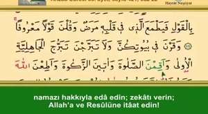Kur'ân-ı Kerim, 30. Cüz (İshak Danış)