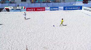 Иранский вратарь забыл, что он вратарь и всадил голасо со своей половины