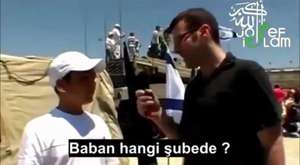 İsrailli çocuklar nasıl insan öldürmeyi öğreniyorlar