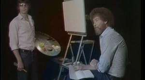 Steve Ross (Son Of Bob Ross) Full Episode (ONE PART) S3 E13 - Peacful Waters - Joy of Painting