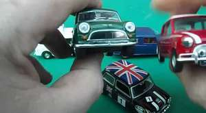 diecast model cars review on mini models mini cooper and police vans