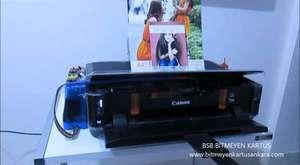 Bitmeyen Kartuşlu Canon Pixma Mp230 Mp235 Yazıcı Tanıtım