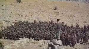 Dağlıca'daki Bordo Bereliler