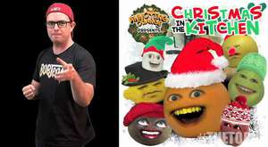 THE TOPIC: Annoying Orange Christmas Album (with Guest Liam The Leprechaun!)