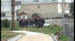mezitli belediye baskanı bılgı otobusu