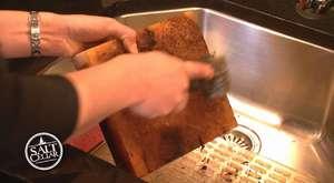 Tuz Pişirme Tablası Temizliği