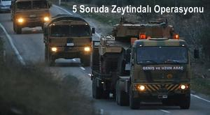 Large convoy of tanks roll through the streets of Turkey