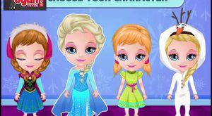 Elsa boyama oyna