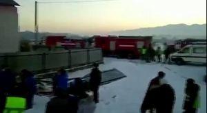 Kazakistan`da Yolcu Uçağı Düştü!
