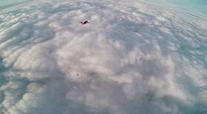 Skydiving İnto The Blue Hole Belize