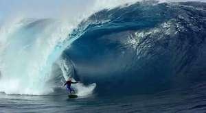 Dev dalgalar arasında ki heyecan..