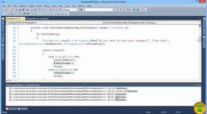 Part 2 - Creating Notepad using C# In Urdu (OpenFileDialog Example)