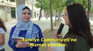 AZERBAYCAN`A ATATÜRK`Ü SORDUK.  AJANSTÜRK TV