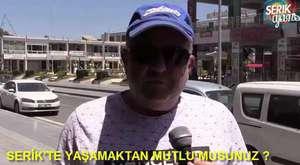 Antalya, Serik Sokak Röportajı