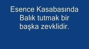 Beyşehir Esence Kasabasın dan Görünüş