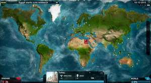 PlagueInc Gameplay All people died - Bütün insanlar öldü.