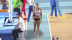 Ivet Lalova, female sprinter good start