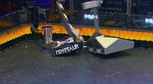Blacksmith vs. Minotaur - BattleBots