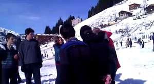 Kardan Adam Şenlikleri ilginç görüntüler