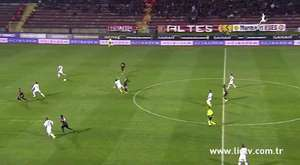 Sopron maçında Abdülaziz ve Sezgin'in golleri