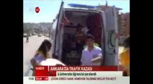 Star tv Gölbaşı Sazlık Alanda Yangın