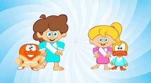 Seni Hiç Gördün mü - Sevimli Dostlar Klasik Çocuk Şarkıları çizgi film
