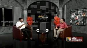thiruma @ puthiyathalaimurai tv