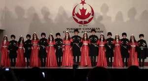Kafkas Dans Grubu Gösterisi