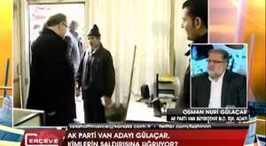Van - Ak Parti Büyükşehir Belediye Başkan Adayı Osman Nuri Gülaçar
