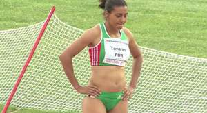 A beautiful Roumanian sprint woman