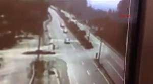Zonguldaktaki Korkunç Kaza Kameralara Böyle Yansıdı