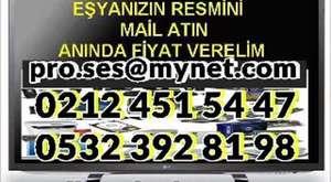 İstanbul LCD TV alanlar, LED TV alan yerler GSM 532 392 8198 2el