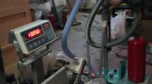Toz Dolum ve Boşaltma Makinası